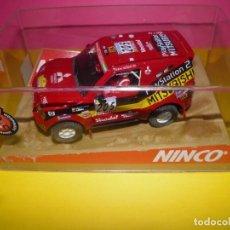Slot Cars: MITSUBISHI PAJERO. NINCO RAID. Lote 125310803