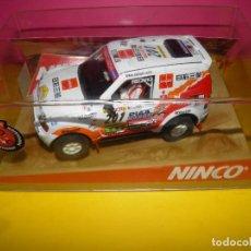 Slot Cars: MITSUBISHI PAJERO. NINCO RAID. Lote 125310919