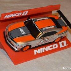 Slot Cars: NINCO - CHEVROLET CAMARO ULTIMATUM - REF. 55057 - SLOT - CAJA ORIGINAL, PERFECTO ESTADO - ENVÍO 24H. Lote 126908215