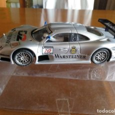 Slot Cars: MERCEDES CLK DTM PLATA ** SIN MOTOR * NINCO * SCALEXTRIC * TAL CUAL FOTOS. Lote 128782307