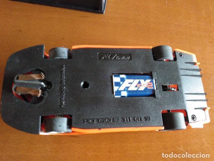 Slot Cars: PORSCHE 911 GTI 98 EVO 2 FLY RACING NARANJA * SCALEXTRIC * TAL CUAL FOTOS - Foto 5 - 128782783