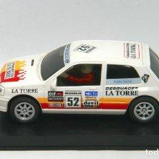 Slot Cars: RENAULT CLIO DESGUCES LA TORRE (NINCO) NUEVO Y CON CAJA. Lote 129355279