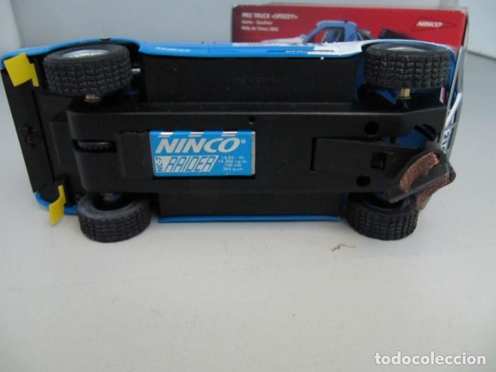 Slot Cars: Coche slot Ninco Salvat. Pro Truck Speedy, Le falta retrovisores y una chapa para los atascos - Foto 4 - 131205144