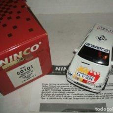 Slot Cars: RENAULT CLIO 16 V DE NINCO REF.-50101. Lote 137178180