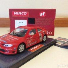 Slot Cars: RENAULT MEGANE NINCO. Lote 134101550