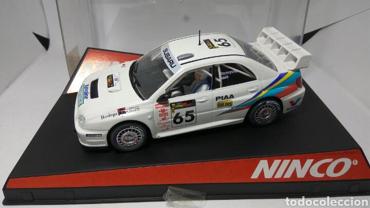 NINCO SUBARU WRC 2003 PRORACE REF. 50322 (Juguetes - Slot Cars - Ninco)