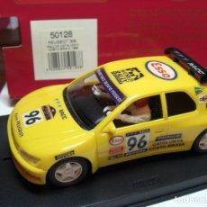Slot Cars: NINCO PEUGEOT 306 AMARILLO R.A.C.C. 1996 REF. 50128 (NUEVO A ESTRENAR). Lote 134330530
