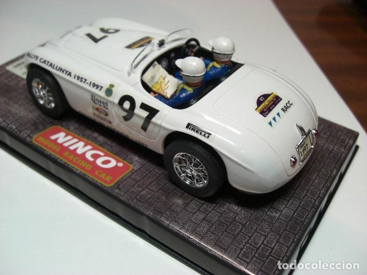 Slot Cars: NINCO FERRARI 166 Blanco R.A.C.C. 1997 Ref. 50136 (Nuevo a estrenar) - Foto 2 - 134330890