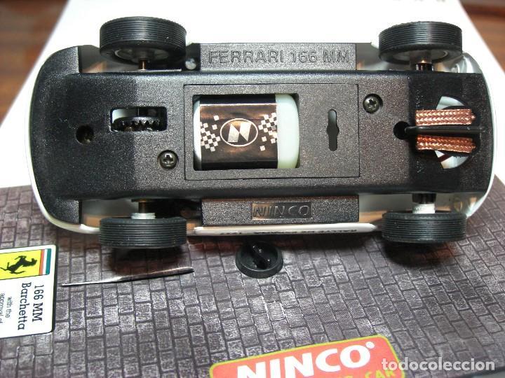Slot Cars: NINCO FERRARI 166 Blanco R.A.C.C. 1997 Ref. 50136 (Nuevo a estrenar) - Foto 5 - 134330890