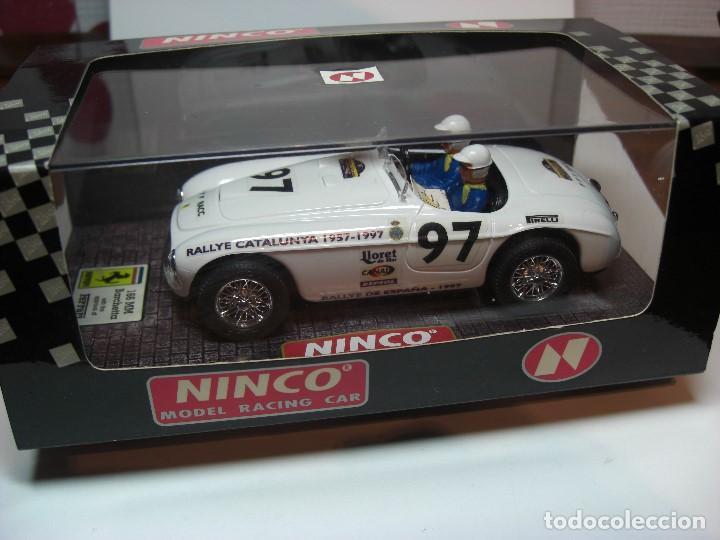 Slot Cars: NINCO FERRARI 166 Blanco R.A.C.C. 1997 Ref. 50136 (Nuevo a estrenar) - Foto 6 - 134330890