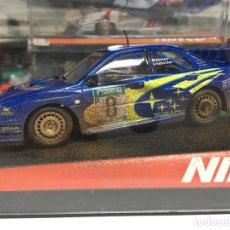 Slot Cars: COCHE SLOT NINCO SUBARU WRC NEW ZEALAND MUDDY - NINCO. Lote 134987498