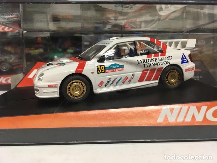 COCHE SLOT NINCO SUBARUNEW ZELAND '04 PRO RACE - NINCO (Juguetes - Slot Cars - Ninco)