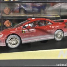Slot Cars: COCHE SLOT NINCO PEUGEOT 307 WRC MONTECARLO'04 NIEVE - NINCO. Lote 134987570
