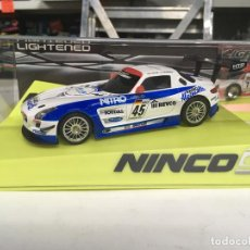 Slot Cars: COCHE SLOT NINCO MOSLER LIGHTNING - NINCO. Lote 134987642
