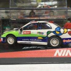 Slot Cars: COCHE SLOT NINCO SUBARU WRC COSTA DAURADA 07 - NINCO. Lote 134987646