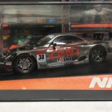 Slot Cars: COCHE SLOT NINCO LEXUS SC430 ZENT TEAM CERUMO - NINCO. Lote 176399279