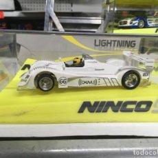 Slot Cars: COCHE SLOT NINCO ACURA LMP2(XM) BLANCO LIGHTNING - NINCO. Lote 134987666