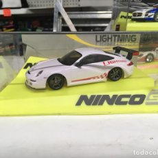 Slot Cars: COCHE SLOT NINCO PORSCHE 997 GT3 FIRST LIGHTNING - NINCO. Lote 134987826