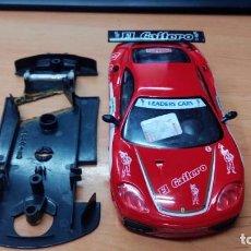 Slot Cars: COCHE SLOT NINCO FERRARI CHASIS Y CARROCERIA EL GAITERO. Lote 151259504