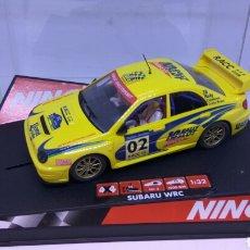 Slot Cars: NINCO SUBARU IMPREZA WRC ED.LTA. RACC COSTA BRAVA 2002 REF. 50257. Lote 137692237