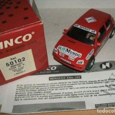 Slot Cars: RENAULT CLIO DE NINCO REF.-50102. Lote 139881738