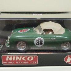 Slot Cars: J-PORSCHE 356 A MILE MIGLIA SCALEXTRIC NINCO REF 50155 . Lote 141875150