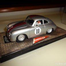 Slot Cars: NINCO. PORSCHE 356A COUPE SILVER. REF. 50178. Lote 143192454