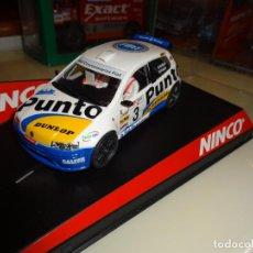 Slot Cars: NINCO. FIAT PUNTO SUPER 1600. VALLEJO. REF. 50289. Lote 143323918