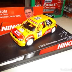 Slot Cars: NINCO. CITROEN SAXO. WORLD CHAMPION JUNIOR WRC. LTD. ED. REF. 50292. Lote 143324458