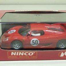 Slot Cars: J10- FERRARI F-50 REF 50123 NINCO SLOT CAR NUEVO. Lote 174391919