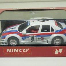 Slot Cars: J- ALFA ROMEO 155 V6 TI MARTINI REF 50112 NINCO SLOT CAR . Lote 143621786