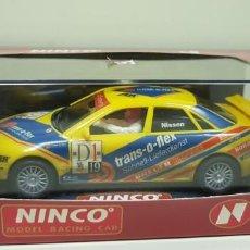 Slot Cars: J-AUDI A4 ABT REF- 50138 NINCO SLOT CAR NUEVO . Lote 143624502