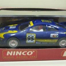 Slot Cars: J-TOYOTA CELICA GT-FOUR RALLYE CATALUNYA REF 50118 NINCO SLOT CAR NUEVO. Lote 143627566