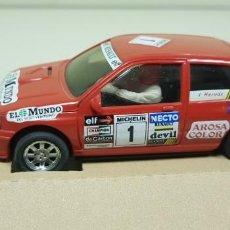 Slot Cars: J-RENAULT CLIO 16V COPA NACIONAL 1993 REF-50102 NINCO SLOT CAR NUEVO. Lote 143638378