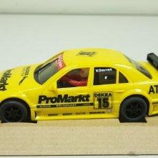 Slot Cars: J- AMG MERCEDES C-KLASSE REF-50107 NINCO SLOT CAR NUEVO (2). Lote 143639634