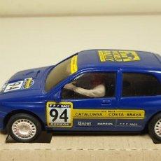 Slot Cars: J- RENAULT CLIO 16V REF 50108 NINCO SLOT CAR NUEVO . Lote 143642730