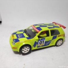 Slot Cars: NINCO VW GOLF RALLY CATALUNYA RACC 2001. Lote 143774016