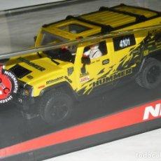 Slot Cars: HUMMER H2 BAJA NINCO/SCALEXTRIC NUEVO EN CAJA. Lote 143817142