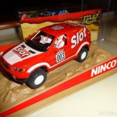 Slot Cars: NINCO. BMW X5 MAS SLOT. REF. 50361. Lote 144033182