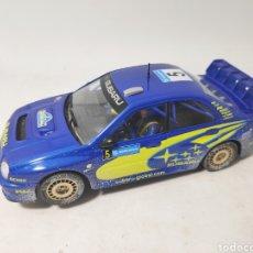Slot Cars: NINCO SUBARU WRC EFECTO NIEVE RALLYE DE SUECIA. Lote 145237865