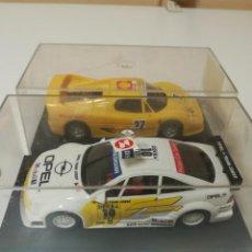 Slot Cars: LOTE FERRARI F50 Y OPEL CALIBRA DE NINCO AÑO 95. Lote 146462706
