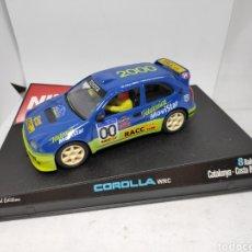 Slot Cars: NINCO COROLLA WRC CATALUNYA COSTA BRAVA 00 REF. 50202. Lote 148650465