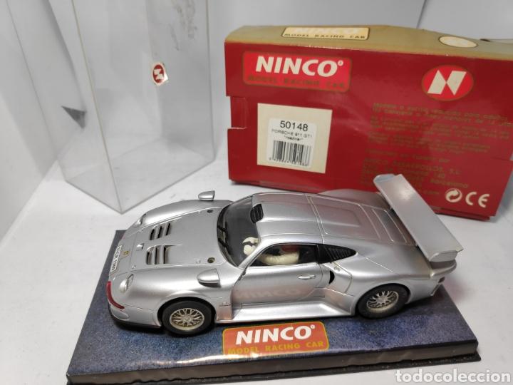 NINCO PORSCHE 911 GT1 ROAD CAR REF. 50148 (Juguetes - Slot Cars - Ninco)