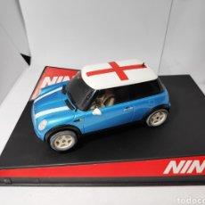 Slot Cars: NINCO MINI COOPER ENGLAND REF. 50311. Lote 149892542