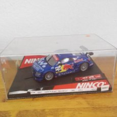 Slot Cars: 2002-COCHE SCALEXTRIC NINCO AUDI TT-R RED BULL. Lote 150262662