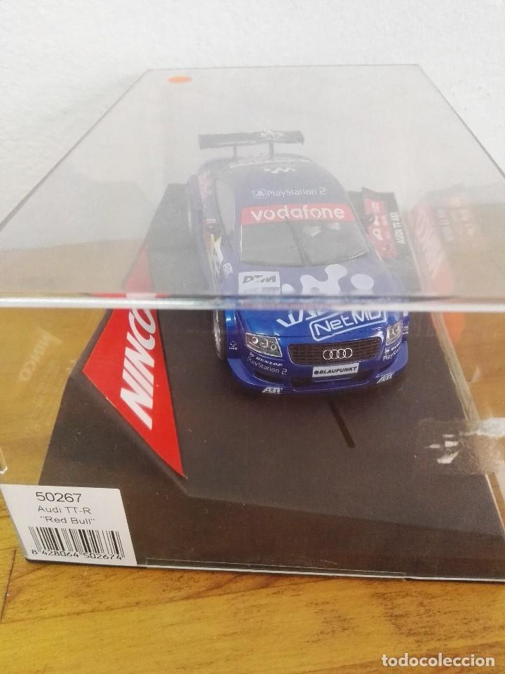 Slot Cars: 2002-Coche scalextric ninco Audi TT-R Red Bull - Foto 3 - 150262662