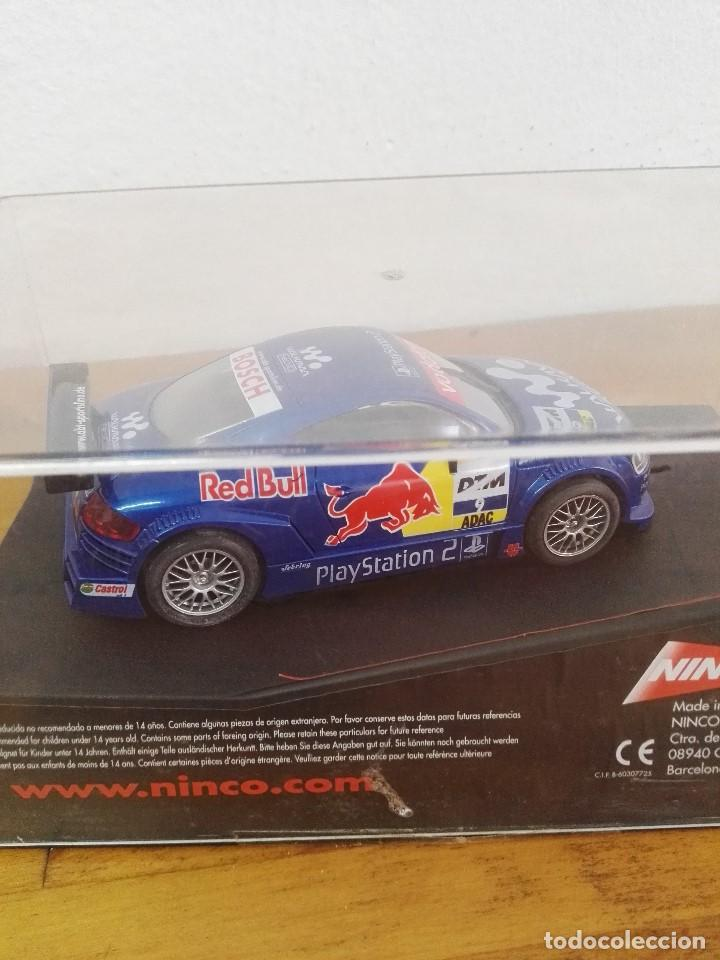 Slot Cars: 2002-Coche scalextric ninco Audi TT-R Red Bull - Foto 4 - 150262662