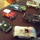 Slot Cars: LOTE 4 COCHES EXCALEXTRIC Y 2 NINCO !!!1 LEER DESCRIPCIÓN. Lote 150484878