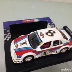 Slot Cars: SLOT, NINCO 50112, ALFA ROMEO 155 V6 TI, Nº8 , MARTINI, NICOLA LARINI. Lote 151387462