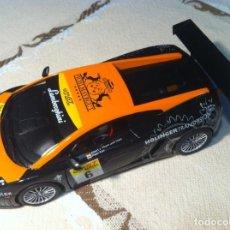 Slot Cars: SCALEXTRIC NINCO LAMBORGHINI GALLARDO FLATEX - SIN MOTOR NI GUIA. Lote 151441422